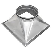 Übergang rund-eckig - Häckel-GmbH