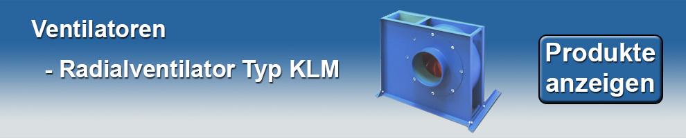 Radialventilator KLM