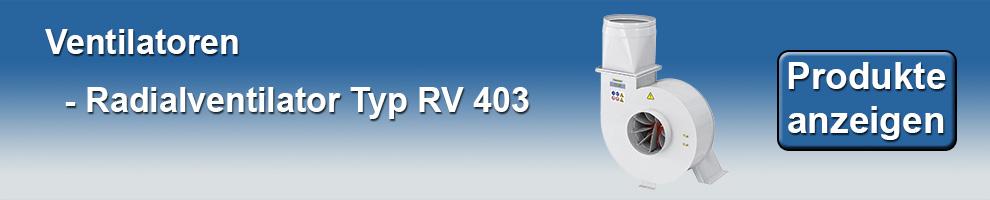 Radialventilator RV403
